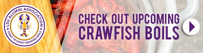 LSU Alumni Coast to Coast Crawfish Boils