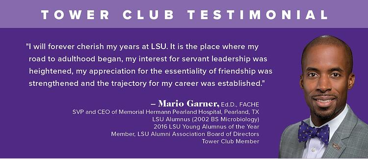 Tower Club Testimonial